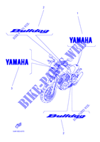 EMBLEME BT1100 1100 yamaha-moto 2003 BULLDOG FIG_37