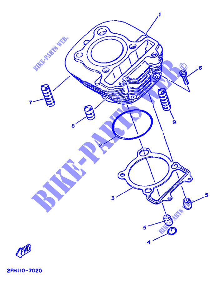 Diagram Of 1986 Moto4 Yfm200dxs Yamaha Atv Carburetor Diagram And