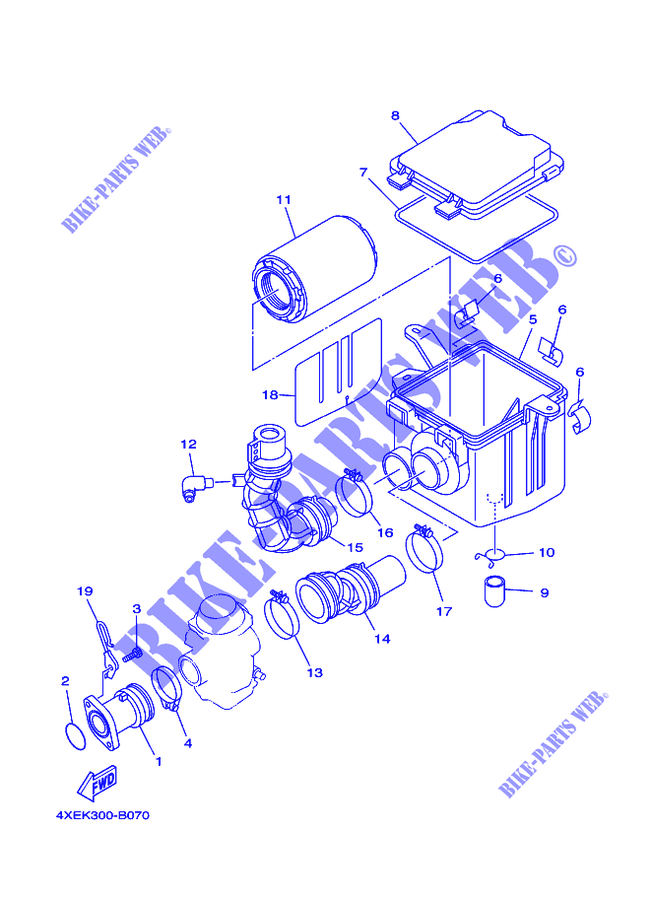 33 Yamaha Bear Tracker 250 Parts Diagram