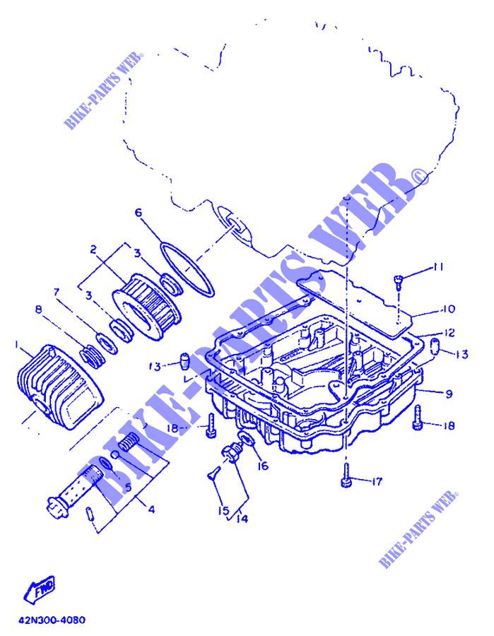 Filtre /à air Filtre /à huile Bougies dallumage pour Yamaha XJ 900/1983 1986/wartungskit servicekit