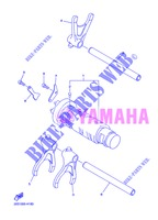 BARILLET DE SELECTION / FOURCHETTES pour Yamaha DIVERSION 600 F ABS de 2013