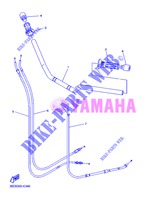 GUIDON ET CABLES pour Yamaha DIVERSION 600 F ABS de 2013