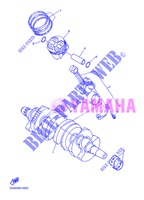 VILEBREQUIN / PISTON pour Yamaha DIVERSION 600 F ABS de 2013