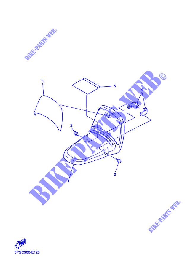 Dasing Car/éNage de Garde Boue Avant Moto pour PW50 PW 50