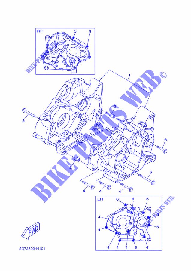 Protection de chaîne pour Yamaha YZF-R 125