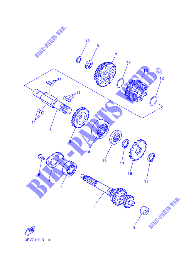 Yamaha 93410-20038-00 CIRCLIP,S-TYPE; 934102003800