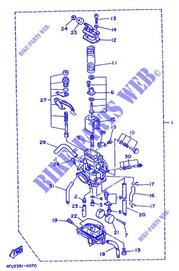 carburateur tdr125 tdr 010 yamaha moto tdr125 125 1996 united kingdom yamaha catalogue de. Black Bedroom Furniture Sets. Home Design Ideas