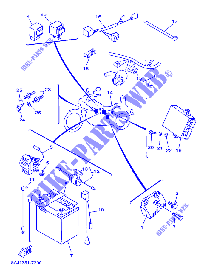 FIG_39 Yamaha Grizzly Wiring Diagram on atv parts, transmission drive shaft removal, chain tensioner bolt kit, modelnumber location, parts for, top speed, battery size,