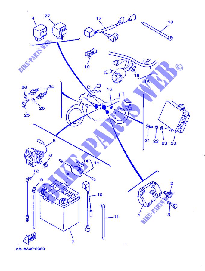 Schema Electrique Virago 125