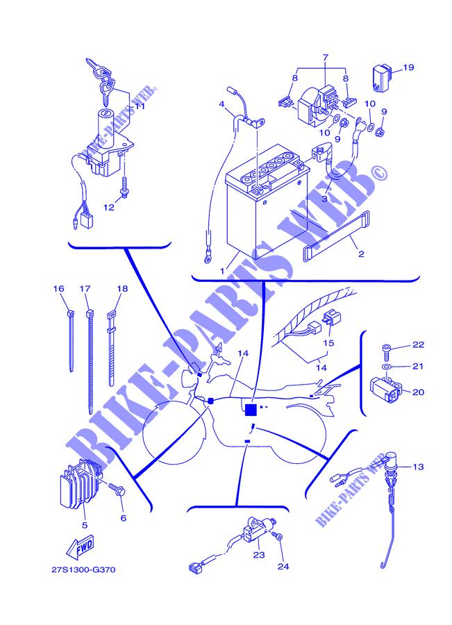 Schema Electrique Yamaha Ybr 125
