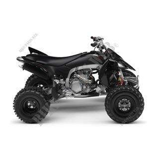 YFZ450R YFZ450R 450 2009 BLACK METALLIC J