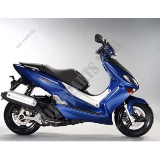 XQ125 MAXSTER XQ150 125 2001 DEEP PURPLISH BLUE METALLIC C