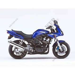 FZS600 FAZER FZS600 600 2002 DEEP PURPLISH BLUE METALLIC C