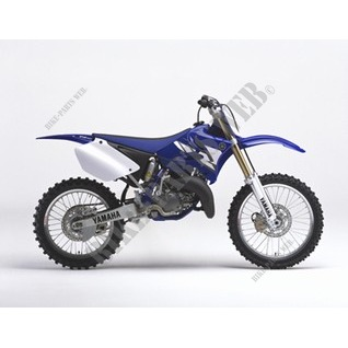 YZ125 125 2004 DEEP PURPLISH BLUE SOLID E